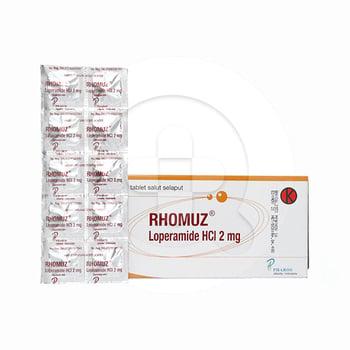 Rhomuz tablet adalah obat untuk mengobati penyakit diare akut ataupun diare kronis.