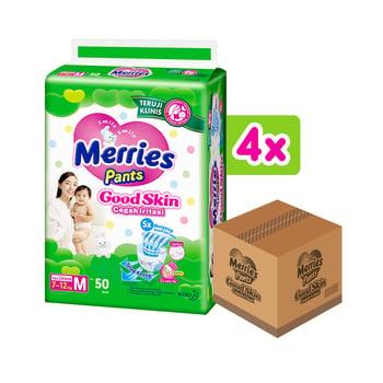 Merries Pants Good Skin M 50'S - 1 Carton harga terbaik 376000