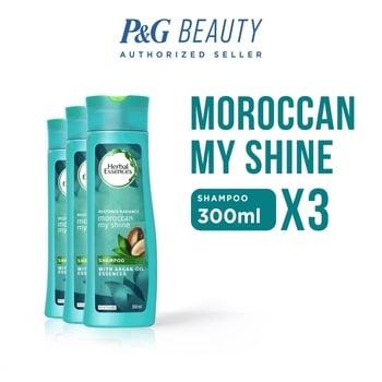 Herbal Essences Shampoo Moroccan My Shine 300 ml - Paket isi 3 harga terbaik 104700
