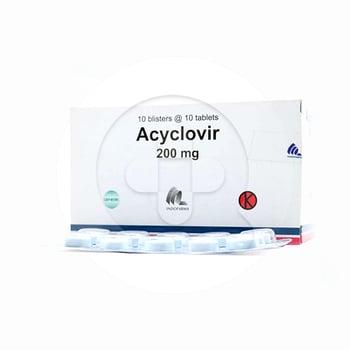 Acyclovir Indofarma Tablet 200 mg  harga terbaik 5304