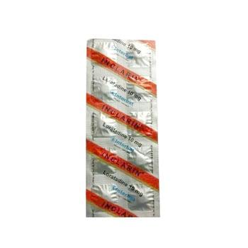 Inclarin Tablet adalah obat untuk mengatasi gejala: peradangan pada mukosa hidung.