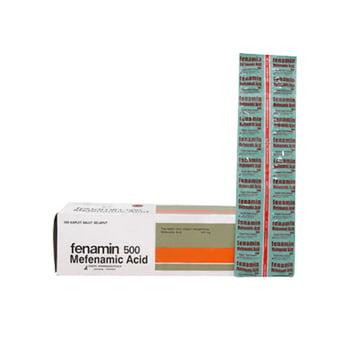 Fenamin kaplet adalah obat untuk mengurangi nyeri seperti sakit gigi dan kram menstruasi