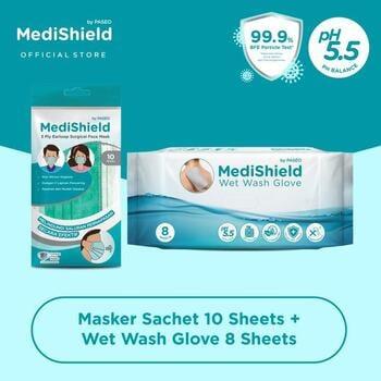 Medishield By Paseo Masker Sachet Earloop  harga terbaik 42000