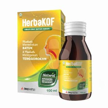 Herbakof Sirup 100 mL harga terbaik 20900