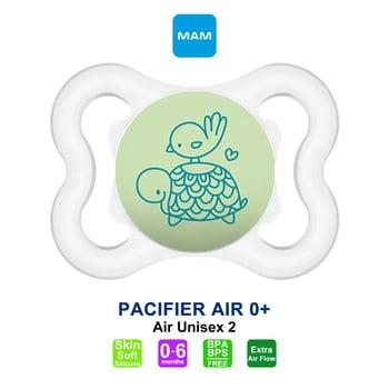 MAM Pacifier PCF Air 0 Plus Months - Dot Bayi - Unisex 2 harga terbaik 59162