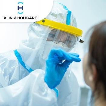 Rapid Swab Antigen Test COVID-19 di Klinik Holicare, BSD & Bintaro