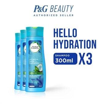Herbal Essences Shampoo Hello Hydration 300 ml - Paket isi 3 harga terbaik 104700