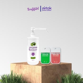 Airtok + Arome Sanitizer Bundling 3 Pack  harga terbaik 238000