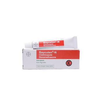 Baycuten-N krim adalah obat untuk mengobati peradangan dan infeksi kulit akibat jamur