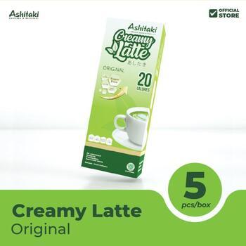 Ashitaki Creamy Latte Original 24 g  harga terbaik 20000