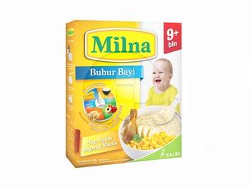 Milna Bubur Sup Ayam Jagung Manis Bayi Usia 9 Bulan ke Atas 120 g harga terbaik 20347
