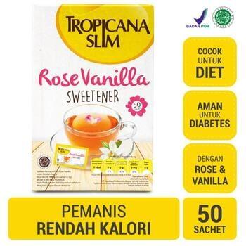 Tropicana Slim Sweetener Rose Vanilla  harga terbaik 46200