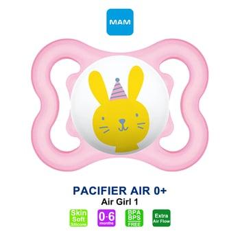MAM Pacifier PCF Air 0 Plus Months Dot Bayi