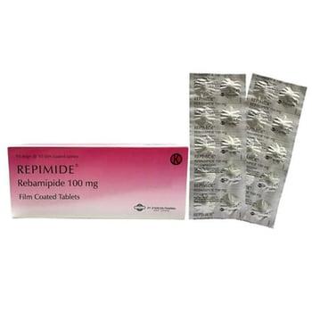 Repimide tablet adalah obat untuk mengatasi luka dan peradangan pada dinding lambung (gastritis).