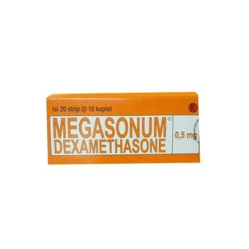 Megasonum Kaplet adalah obat untuk mengatasi alergi dan peradangan.