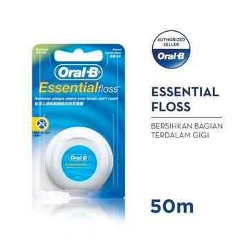 Oral-B Benang Gigi Essential Floss 50 M harga terbaik 37400