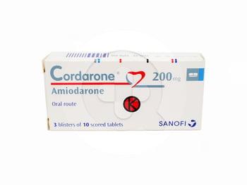 Cordarone tablet adalah obat untu mengatasi denyut jantung tidak teratur