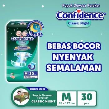 Confidence Popok Dewasa Classic Night M 30 harga terbaik