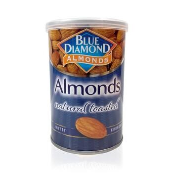 Blue Diamond Almond Natural Toasted / Unsalted 130 g harga terbaik 59900