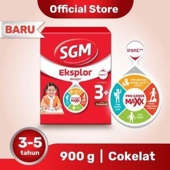 SGM Eksplor 3 Plus Susu Pertumbuhan 3-5 Tahun Coklat 900 g harga terbaik