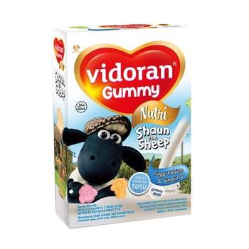 Vidoran Gummy Calcium with Vitamin D 60 g  harga terbaik