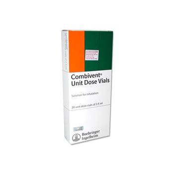 Combivent UDV inhalan adalah obat yang digunakan untuk mengatasi penyempitan saluran pernapasan