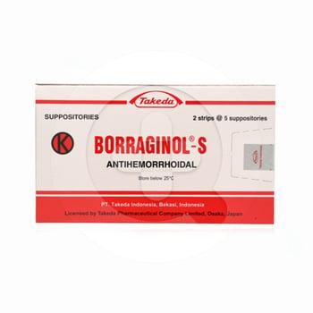 Borraginol-S Suppositoria  harga terbaik