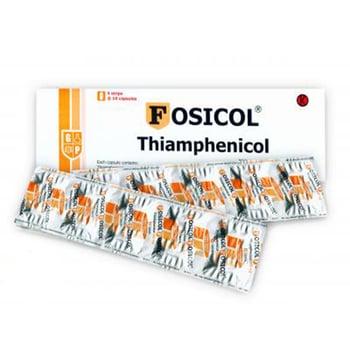 Fosicol kapsul adalah obat untuk mengatasi infeksi bakteri seperti demam tifoid