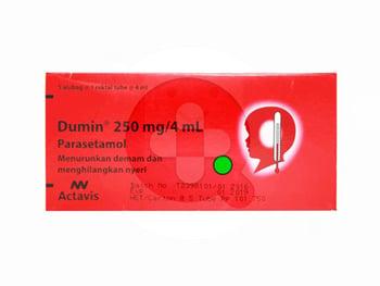 Dumin Enema Tube 250 mg /4 mL (1 Box @ 1 Tube) - Alternatif Dumin Sirup