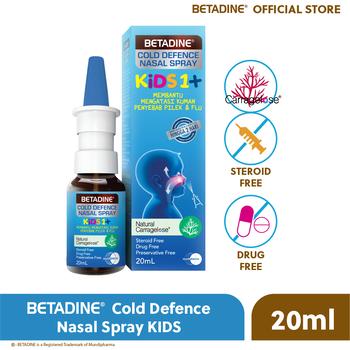 BETADINE Cold Defence Nasal Spray Kids