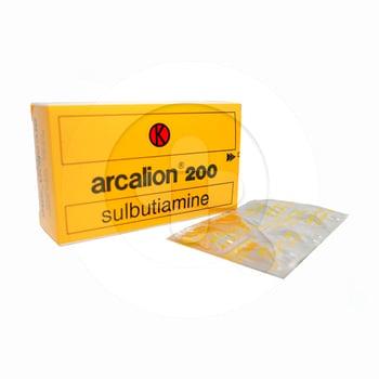 Arcalion tablet adalah obat untuk mengatasi kelelahan serta meningkatkan kinerja otak