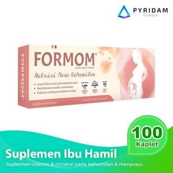 For Mom Kaplet (10 Strip @ 10 Kaplet) - Suplemen Untuk Ibu Hamil