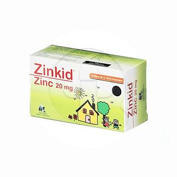 Zinkid tablet adalah obat untuk terapi tambahan diare pada anak-anak dan diberikan dengan oralit.