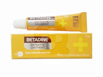 Betadine Salep 5 g harga terbaik 12009
