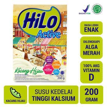 HiLo Active Kacang Hijau 200 g harga terbaik 55000