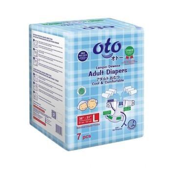 OTO Adult Diapers / Popok Dewasa Model Perekat -  L  harga terbaik 43500