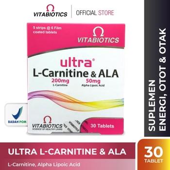 Vitabiotics Ultra L-Carnitine & ALA Tablet  harga terbaik 198000