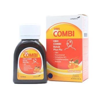 OBH Combi Batuk Plus Flu Rasa Madu 60 mL harga terbaik 15913