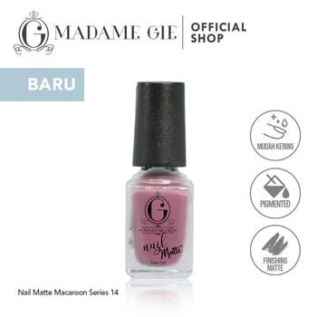 Madame Gie Nail Matte 14 Almond harga terbaik 7200
