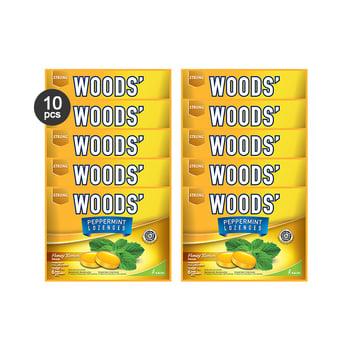 Woods Lozenges Honey Lemon Family Pack  harga terbaik 52250
