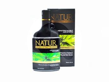 Natur Natural Extract Shampoo Aloe Vera Extract 140 ml harga terbaik 27222