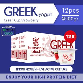 Heavenly Blush Yogurt Greek Strawberry 100 g  harga terbaik 300000