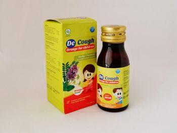 Decough For Children Orange Sirup 60 mL harga terbaik