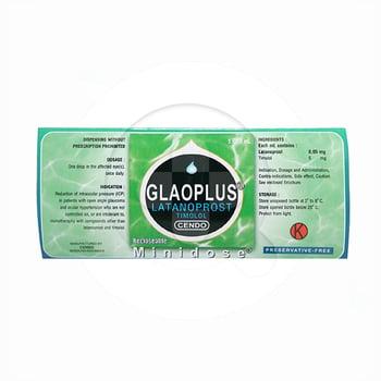 Cendo Glaoplus tetes mata adalah obat untuk mengurangi tekanan pada bola mata