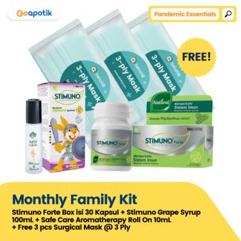 GoA Monthly Family Kit - Pandemic Essentials harga terbaik
