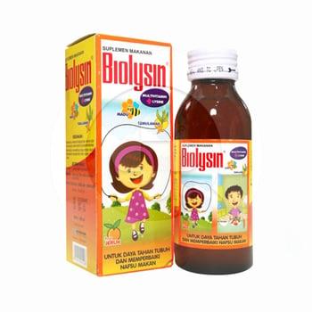 Biolysin Sirup 100 mL harga terbaik 17013