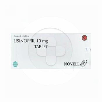 Lisinopril Novell Tablet 10 mg  harga terbaik