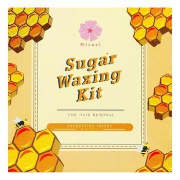 Mirael Sugar Waxing Kit Honey 210 ml harga terbaik 95000