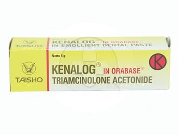 Kenalog In Orabase salep adalah obat untuk mengatasi peradangan dan sariawan