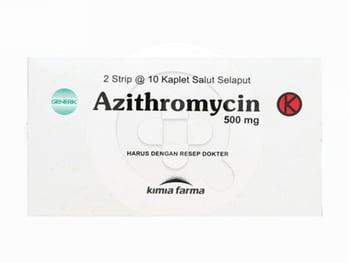 Azithromycin Kimia Farma Kaplet 500 mg  harga terbaik 45037
